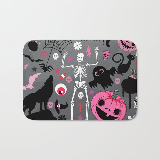 Halloween night Bath Mat