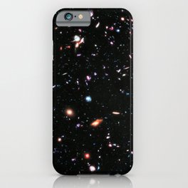 eXtreme Deep Field, Galaxy Background, Universe Large Print, Space Wall Art Decor, Deep Space Poster iPhone Case