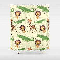 Welcome to Africa Shower Curtain