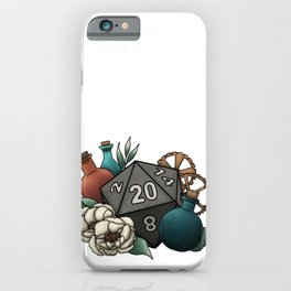 Artificer Class D20 - Tabletop Gaming Dice iPhone Case