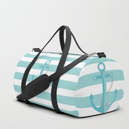 AFE Nautical Aqua Ship Anchor Duffle Bag