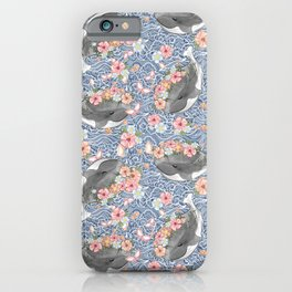 Love Ocean graphic tee iPhone Case
