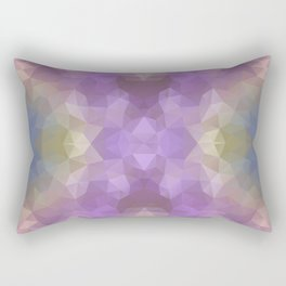 """Carnival time"" triangles design Rectangular Pillow"