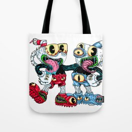 Monster Cups Tote Bag