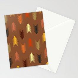 Tribal arrows pattern Stationery Cards
