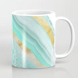 Agate Gold Foil Glam #2 #gem #decor #art #society6 Coffee Mug
