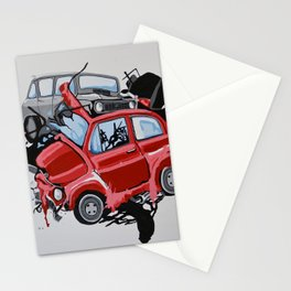 Carsharing Stationery Cards