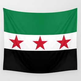 Independence Flag of Syrian, High quality Wall Tapestry