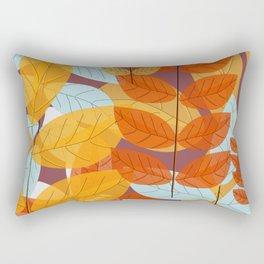 Fall's Coming Rectangular Pillow