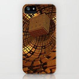 Gold Mine II iPhone Case