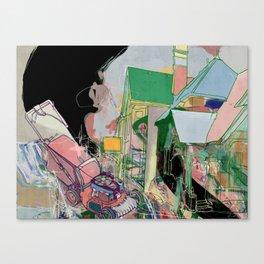 Superb suburb Canvas Print