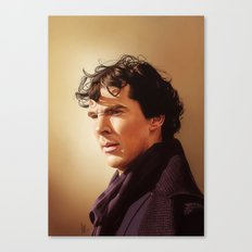Against the rest of the world - Sherlock Canvas Print