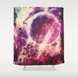 rysyng dyscynt Shower Curtain