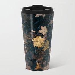 Water Leaves Travel Mug