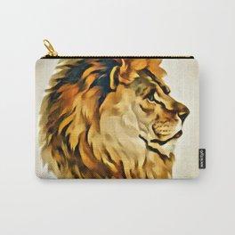 MAJESTIC LION PORTRAIT Carry-All Pouch