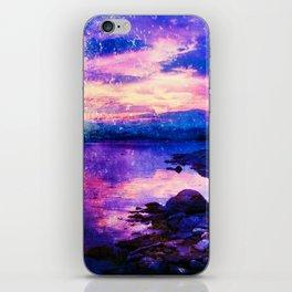 Abstract Sunburst Beach iPhone Skin