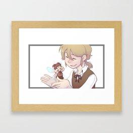 Goodbyes Framed Art Print