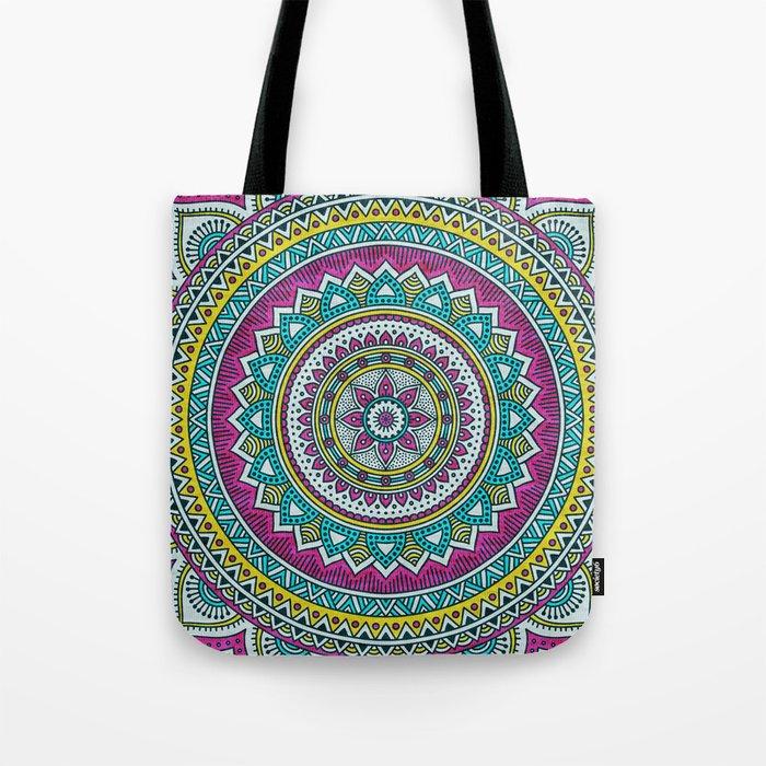 Hippie mandala 31 Tote Bag