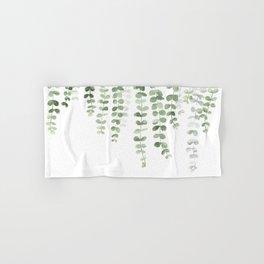 Eucalyptus Watercolor Hand & Bath Towel