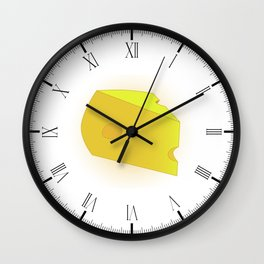 Cheese Wall Clock