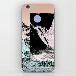 That circle which might be a moon iPhone Skin