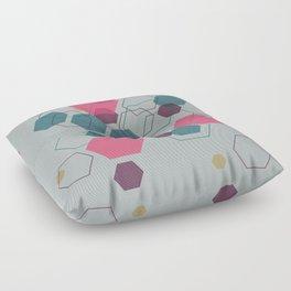 Hexagon Jewel Floor Pillow