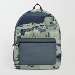 Santorini, Greece 2 Backpack