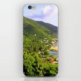 Tortola View British Virgin Islands iPhone Skin