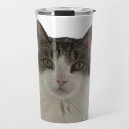 Attentive Cat Travel Mug