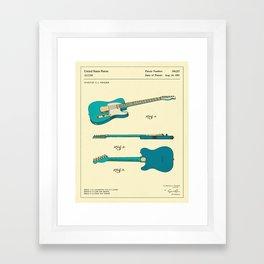 Guitar (1951) Framed Art Print