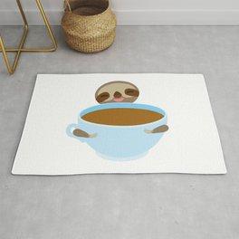 sloth & coffee Rug