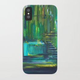 Ascension to Emerald City iPhone Case