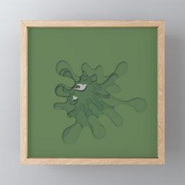 Splash of Nature Framed Mini Art Print