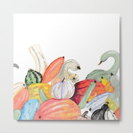 Gorgeous And Gourdy Metal Print