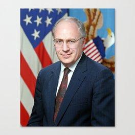 Official portrait of Secretary of Defense Richard B. Cheney Canvas Print