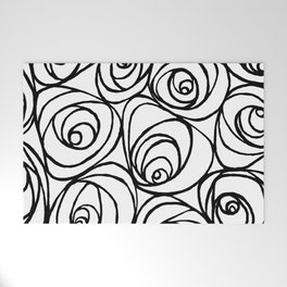 Roses Welcome Mat