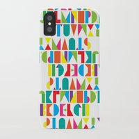 alphabet iPhone & iPod Cases featuring Alphabet by Rachel Lee
