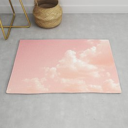 Spun Sugar Clouds Rug