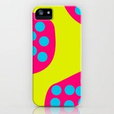 Green Purple Dots Slim Case iPhone (5, 5s)