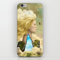 aurora iPhone & iPod Skins featuring Aurora by Diogo Verissimo