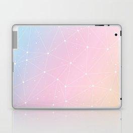 Rainbow Watercolor Astronomy Laptop & iPad Skin