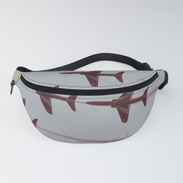 Royal Air Force Fighter Planes In Formation Fanny Pack