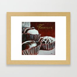 Savoy Truffle Framed Art Print