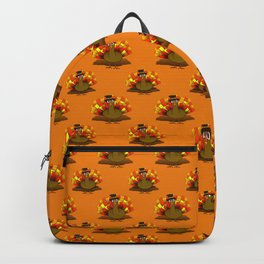 Thanksgiving Turkey Pilgrim Backpack