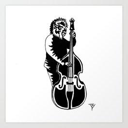 AniMusic (BUFFALO) Art Print