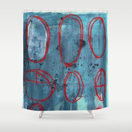 Crosshair Shower Curtain