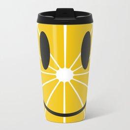 Lemon Metal Travel Mug