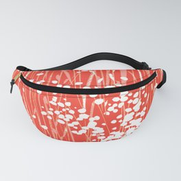 Coral Weeds Fanny Pack