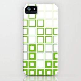 Gingham with a twist iPhone Case