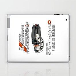 Crazy Car Art 0125 Laptop & iPad Skin